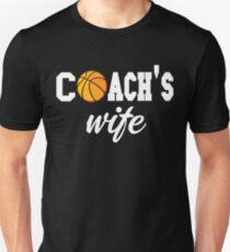 Basketball Coach Shirt - Basketball Coach Gifts - Basketball Coach Wife Shirt Unisex T-Shirt