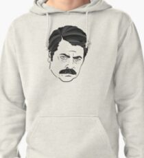Ron Swanson Pullover Hoodie