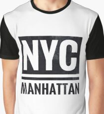 NYC Manhattan Graphic T-Shirt