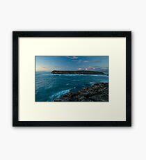Pondalowie Bay Island 1 Framed Print