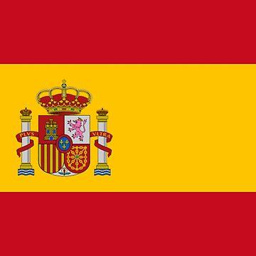 Spain - National Flag - Current by CrankyOldDude