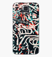 Street Art Graffiti Pattern Ink and Posca  Case/Skin for Samsung Galaxy