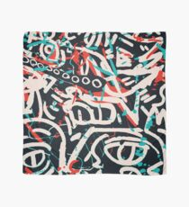 Street Art Graffiti Pattern Ink and Posca  Scarf