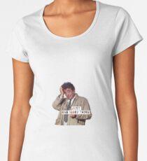 Columbo - Just one more thing! Women's Premium T-Shirt
