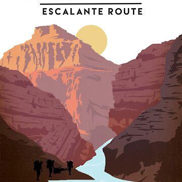 Grand Canyon Escalante Route by reesebailey