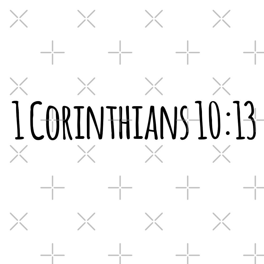 1 Corinthians 10:13 by Olivia Lee