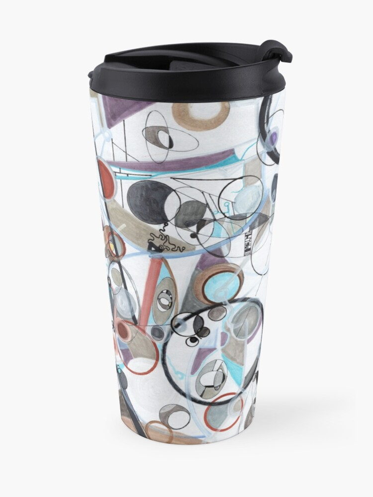 Alternate view of An Uncertain Progression Travel Mug