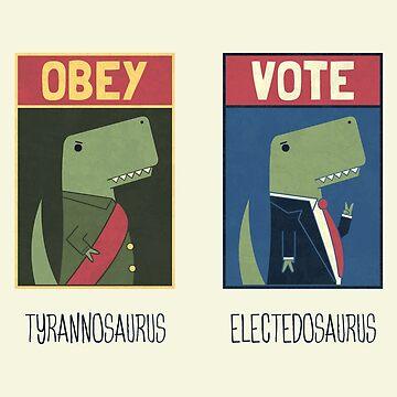 Jurassic Rulers by theodorezirinis