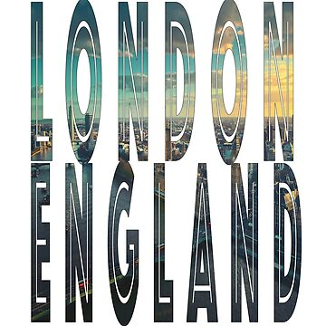 London England city skyline design by jhussar