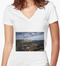 Beyond Yosemite Women's Fitted V-Neck T-Shirt