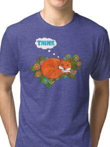 Think Outside the Fox Tri-blend T-Shirt