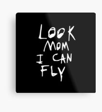 Look Mom I Can Fly - ASTROWORLD Metal Print