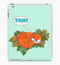 Think Outside the Fox iPad Case/Skin