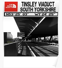 The Real North-Tinsley Viaduct South Yorkshire  Poster