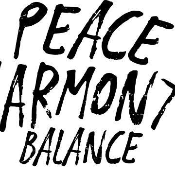 Zen - Bonsai Peace Harmony Balance by redman17