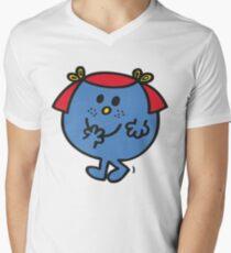 Little Miss Giggles V-Neck T-Shirt