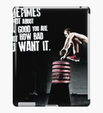 Bodybuilding Inspirational Workout Quote iPad Case/Skin