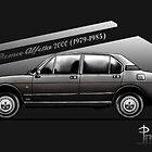 Alfa Romeo Alfetta 2.0 (metallic grau) von Azaziel