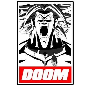 Broly Doom by KURTUSMAXIMUS