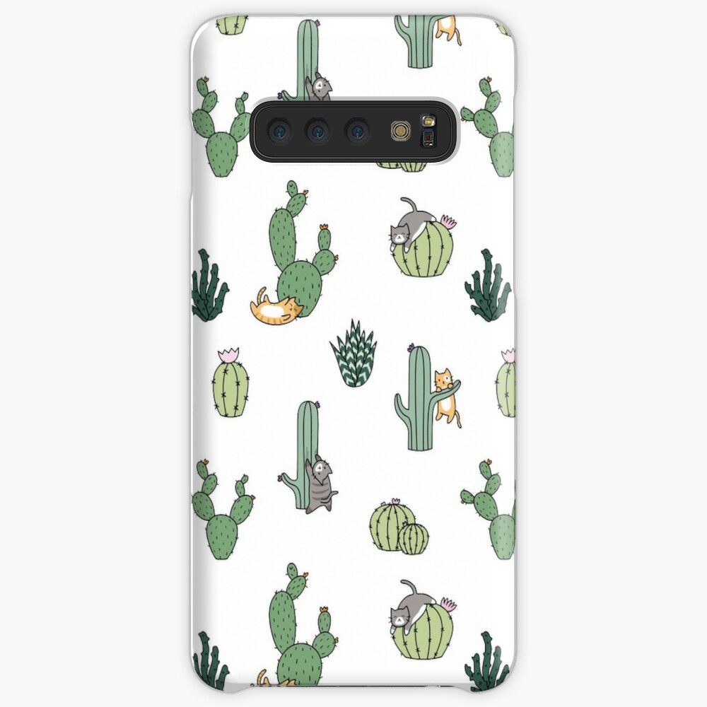 Cacti Cats Cases & Skins for Samsung Galaxy