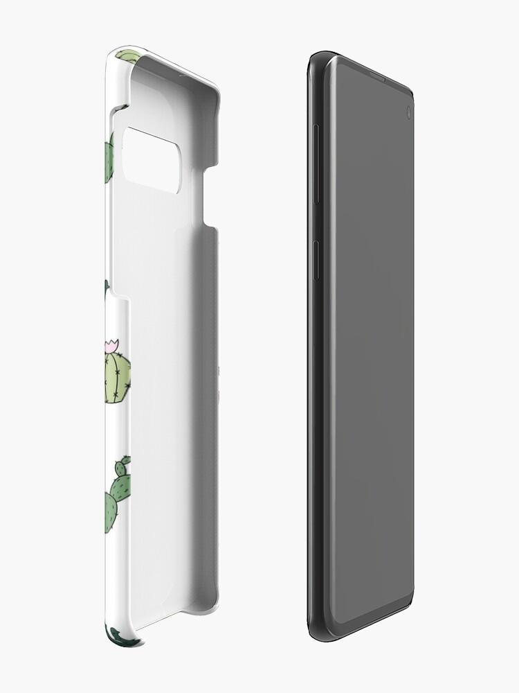 Alternative Ansicht von Kakteenkatzen Hülle & Klebefolie für Samsung Galaxy