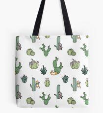 Cacti Cats Tote Bag