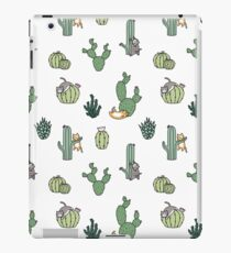 Cacti Cats iPad Case/Skin