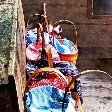 Lunch Baskets in One Room Schoolhouse by SudaP0408