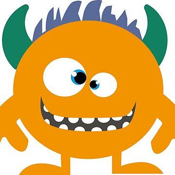 Bad little Monster by open-eyes