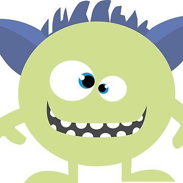 Tiny little Alien Monster by open-eyes