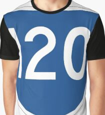 Australian State Route 120 | Australia Highway Shield Sign Graphic T-Shirt