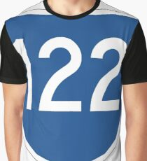 Australian State Route 122 | Australia Highway Shield Sign Graphic T-Shirt