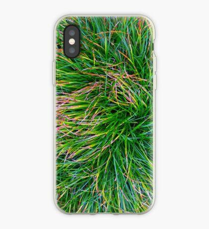 A Swirl of Grass iPhone Case