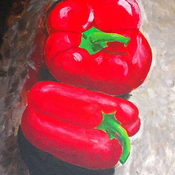 Red Peppers by RDHals