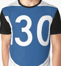 Australian State Route 130 | Australia Highway Shield Sign Graphic T-Shirt