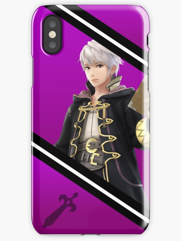 Robin/Male Original-Smash 4 Phone Case by Ayo B