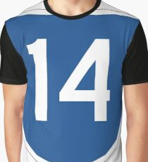 Australian State Route 14 | Australia Highway Shield Sign Graphic T-Shirt