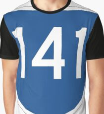 Australian State Route 141 | Australia Highway Shield Sign Graphic T-Shirt