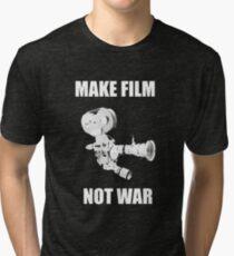 make film not war Tri-blend T-Shirt