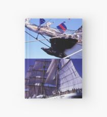 The Eagle collage (for Poete) Hardcover Journal