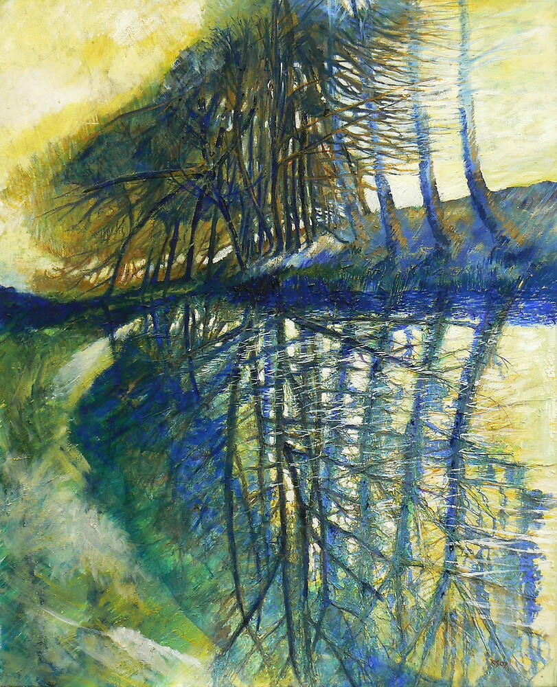 Seaton Trees by Richard Sunderland