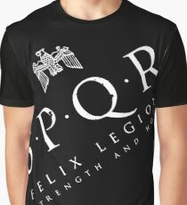 SPQR - Roman Empire Army Graphic T-Shirt