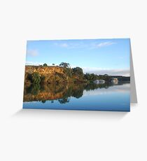 MORNING ON THE MURRAY Greeting Card