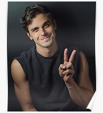 antoni peace sign :) Poster