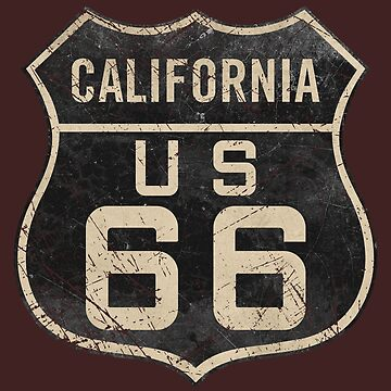 CALIFORNIA ROUTE 66 V04 by Lidra