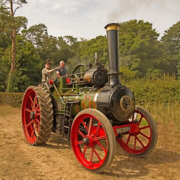 Molly the traction engine by jon77lees