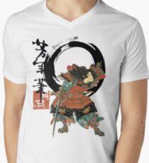 Samurai Flipping! Men's V-Neck T-Shirt