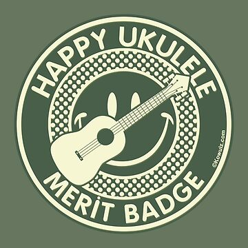 Happy Ukulele Merit Badge by Kowulz