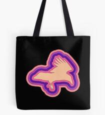 Multi-colored raven Tote Bag