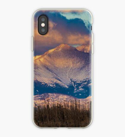 Mt Meeker and Longs Peak Sunrise iPhone Case